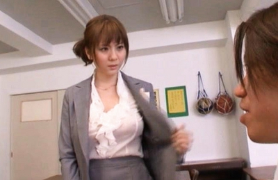An nanairo asian model is lovely and big 10